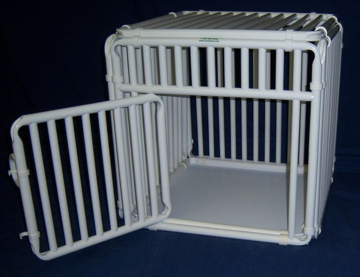 PVC Dog Cage Indoor Crate