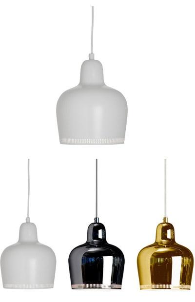"Artek - pendant lamp A330S     dimensions:  cord: 98"" L  diffuser: 6.7"" dia | 7.9"" h | requires a 9w compact fluorescent or 40W max incandescent  ceiling mount: 4.7"" dia. | 2.4"" h       $320.00"