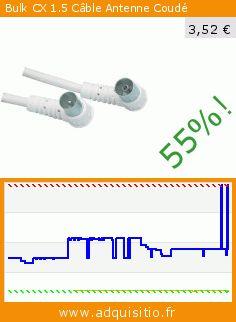 Bulk CX 1.5 Câble Antenne Coudé (Accessoire). Réduction de 55%! Prix actuel 3,52 €, l'ancien prix était de 7,77 €. http://www.adquisitio.fr/bulk/cx-15-c%C3%A2ble-antenne-coud%C3%A9