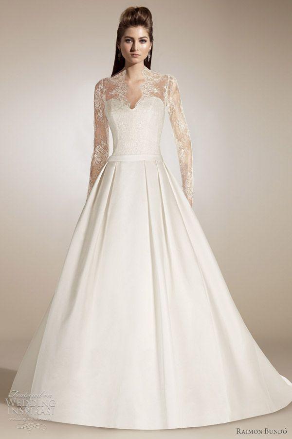 kate middeltown wedding dress | Raimon Bundó Wedding Dresses 2012 | Wedding Inspirasi