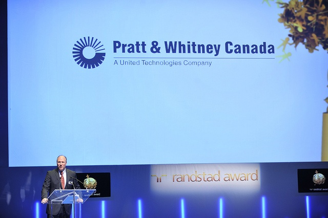 Pratt & Whitney placed 3rd at the 2012 Randstad Award as one of the country's most attractive employers.