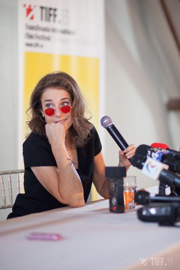 Debra Winger at #TIFF2014 - http://www.igloo.ro/articole/raportul-de-aur-atins-la-al-13-lea-tiff/