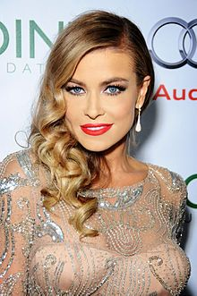 Carmen Electra - from Cincinnati (she went to the public high school just a few miles away from mine at the same time!)