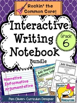 Interactive Writing Notebook for Grade 6PLEASE SEE THE PREVIEW! This has been a BEST SELLER ON TPT! BTS (BOOST TEST SCORES) WRITING PROGRAM- an all-inclusive step-by-step writing program that has been proven to be 98% effective with exemplary scores! You will find 400+ pages of lesson plans, creative ideas, teaching slides, practice sheets, mentor texts, etc.