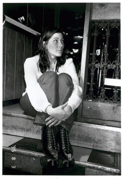 Kim Deal (with roller skates)