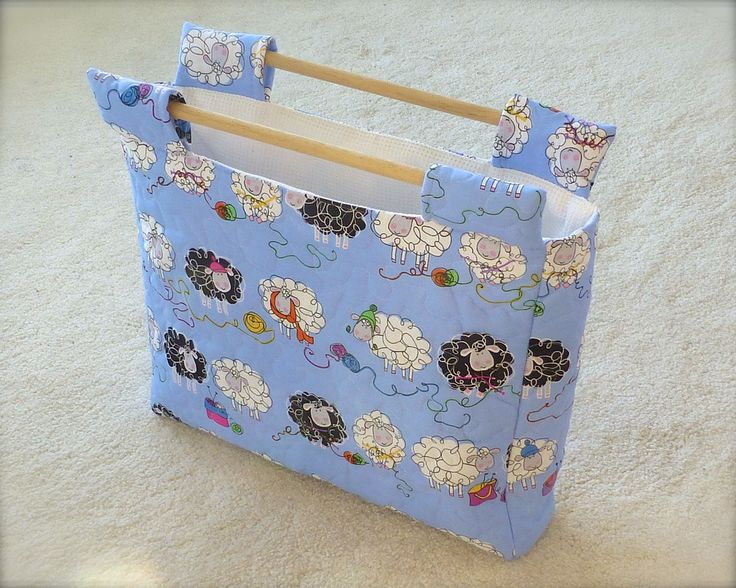 Craft bag - perfect for sewing, knitting or crochet projects!