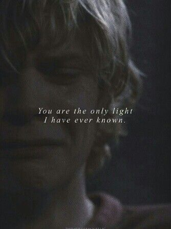 the only light I've ever known