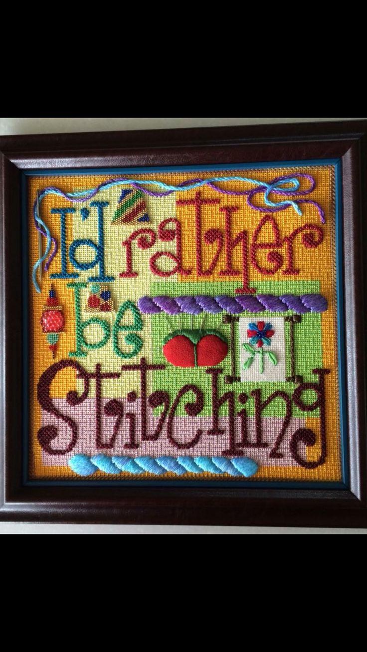 Fun stitch choices