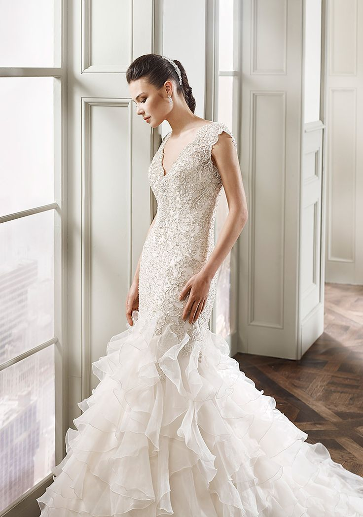 Best Gold And Champagne Wedding Dresses Images On Pinterest