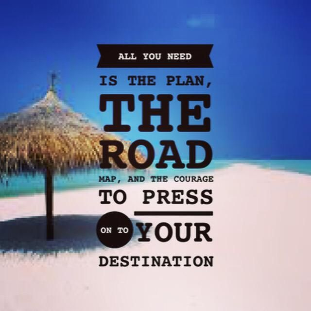 Do you create a plan to reach your destinationplease reTweeT if you agree#success #entrpreneur #vision #blogger