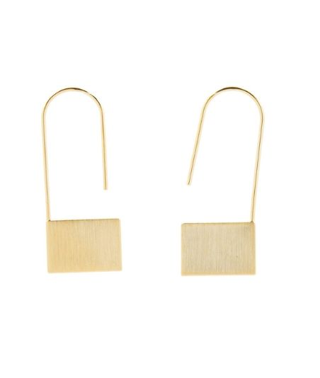 Our new Rectangle Link earrings, so cute.