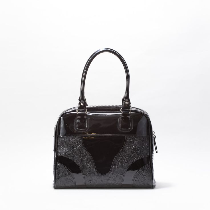 «PATENT LEATHER»BAG