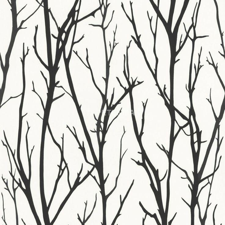 Ein modernes Muster in weiß/schwarz zeigt die Vliestapete 2683-41 aus der Kollektion Schöner Wohnen 4 von Livingwalls.Tapeten online günstig kaufen.