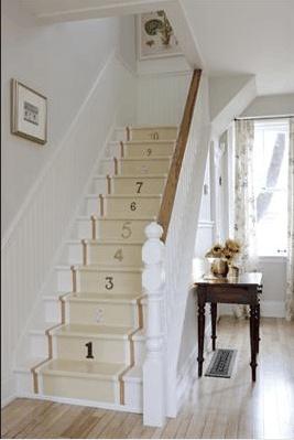 Cute Back Steps