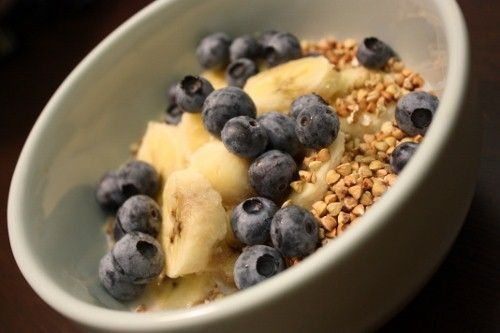 Buckwheaties, Cashew Cream, Berries and Bananas one of the best breakfasts I can think of.