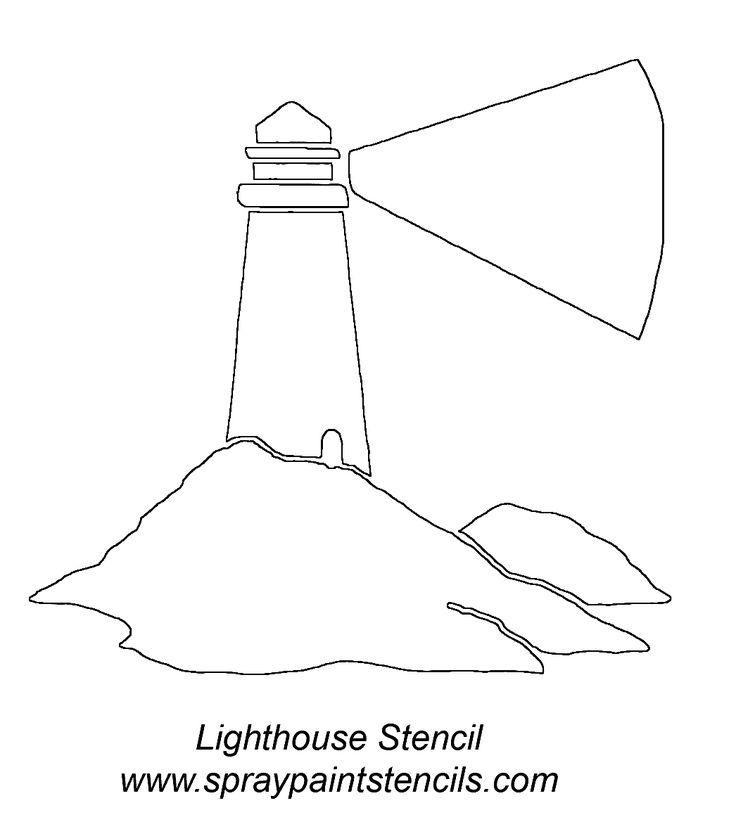 Lighthouse Stencil Lighthouse Stencilgif Outdoors