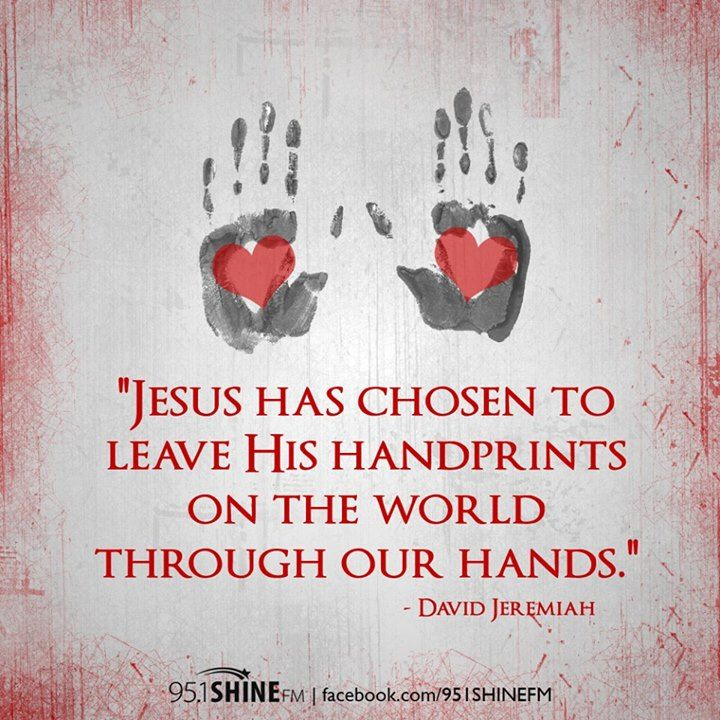 Our Hands Reveal Jesus - Dr| David Jeremiah Awesome Disciple