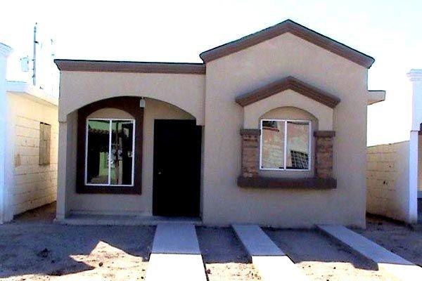 Dise o de fachadas de casas simple fachada pinterest for Exterior de casas