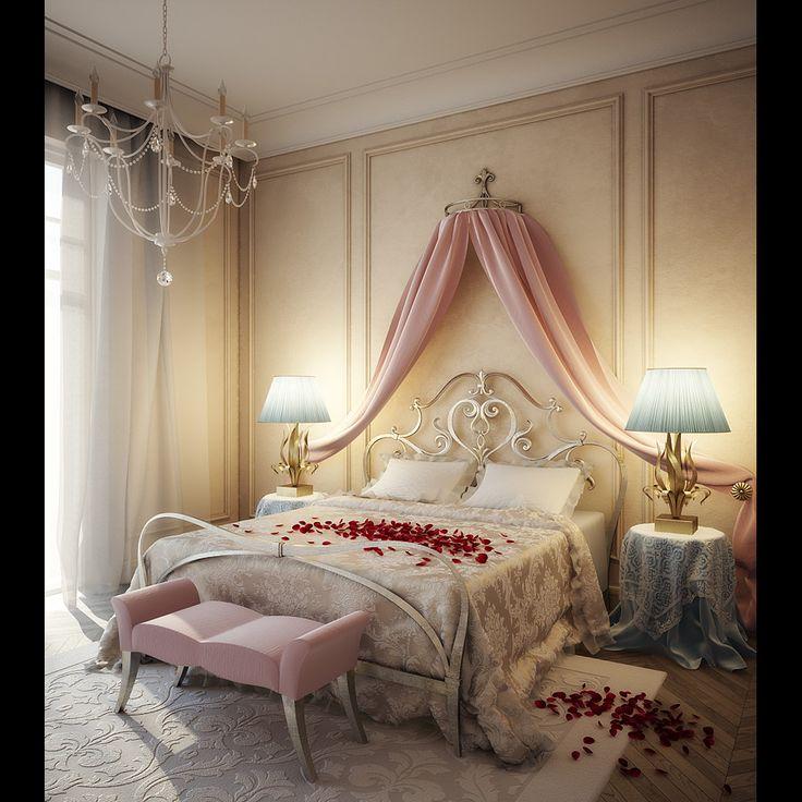 33 Glamorous Bedroom Design Ideas: 70 Best Glamour Bedroom Images On Pinterest