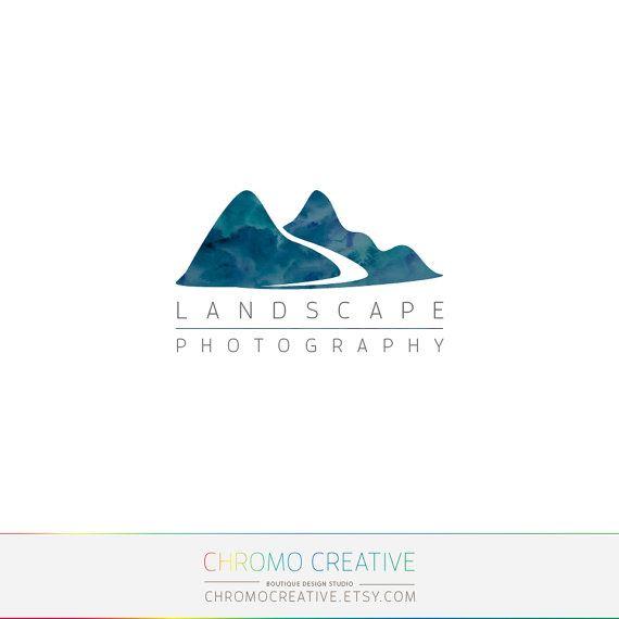 Premade Logo et filigrane, Premade photographie Logo, paysage photographie logo…