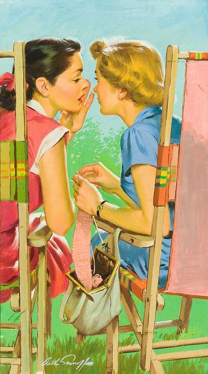 Auf rogerwilkerson.tumblr.com http://www.pinterest.com/ikatawa/mujeres-de-su-casa-perfect-housewifes/