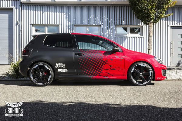 Vw Golf 6 Gti Premium Wrapping Coches Personalizados Tuning