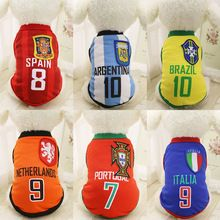 KIMHOME PET Cheap Dog Clothes With Free Shipping Mesh Cute Dog Vest 6 Country Soccer Dog Shirt 4 NBA Jersey Basketball Uniforms //Price: $US $2.58 & FREE Shipping //   #accessories #glasses #hats #clothes #jewerly #home