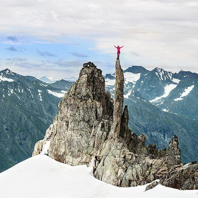 @sunbump/ ©John Solhaug  _________ Your photo is chosen as today's winner CONGRATULATIONS  _________ Photographer: John Solhaug . Climber: @sunbump _________  Location: #Bladet/#Molladalen/#Ørsta/#Norway _________ #ilovenorway #ilovenorway_møreogromsdal  _________ Picture selected by: @christerolsen_  _________