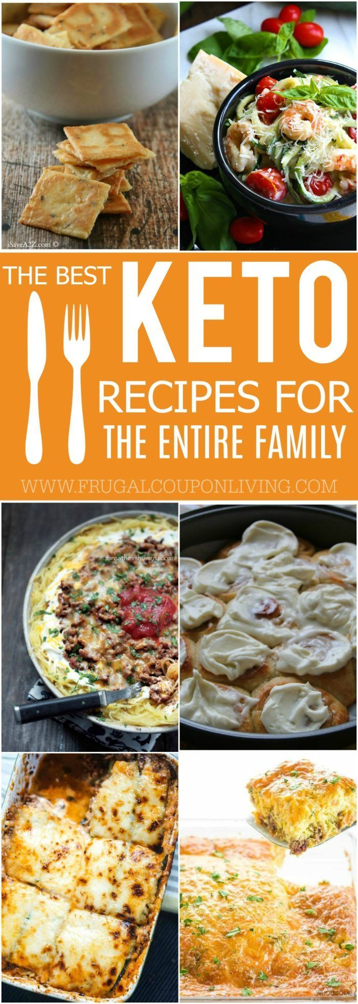 Keto Recipes for the Entire Family. These mouthwatering, low carb recipes are so tasty it might feel sinful or indulgent eating them. Enjoy healthy comfort food dishes including keto-friendly casseroles, soups, breads, and even desserts! #keto #ketorecipes #recipes #dinner #familydinners #lowcarbrecipe #healhtyrecipe #healthyliving #ketogenic #ketogenicdiet #ketodiet