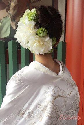 満開桜♡神前式から始まる素敵なウエディングDAY! | 大人可愛いブライダルヘアメイク 『tiamo』 の結婚カタログ
