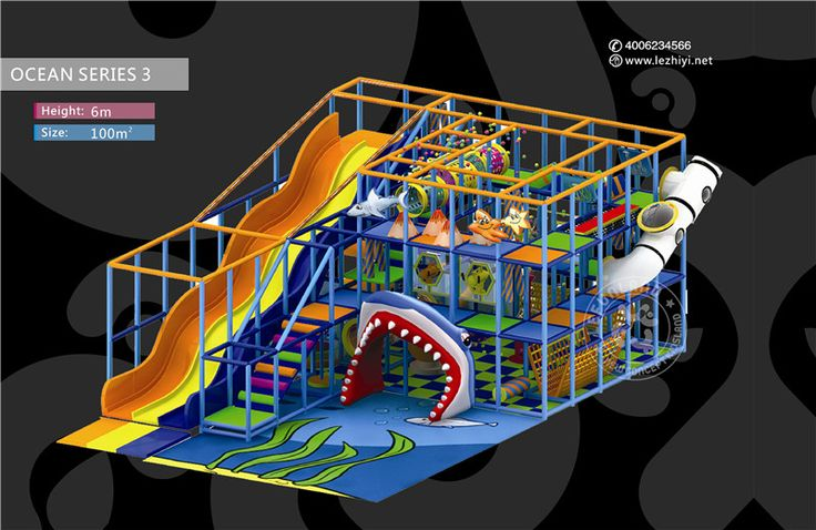 lefunland indoor playground equipments, children's indoor playground, soft play, kids indoor playground