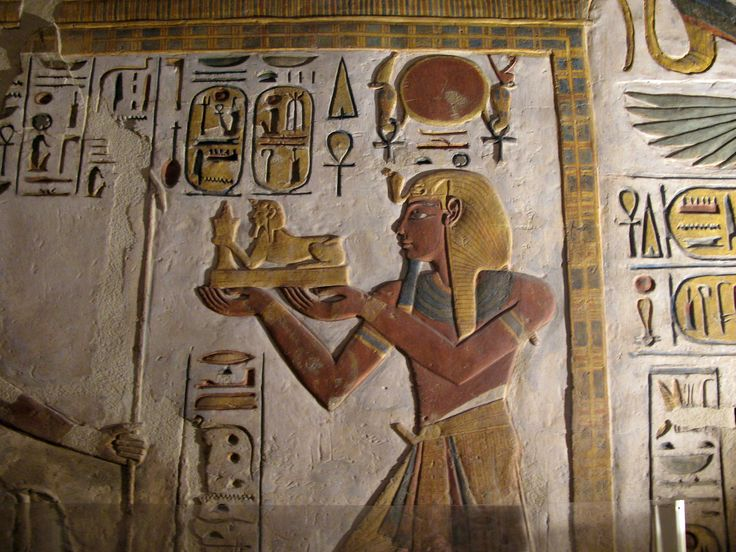 Ancient Egyptian Art | ANCIENT ART — Ancient Egyptian artwork from the Karnak temple,...