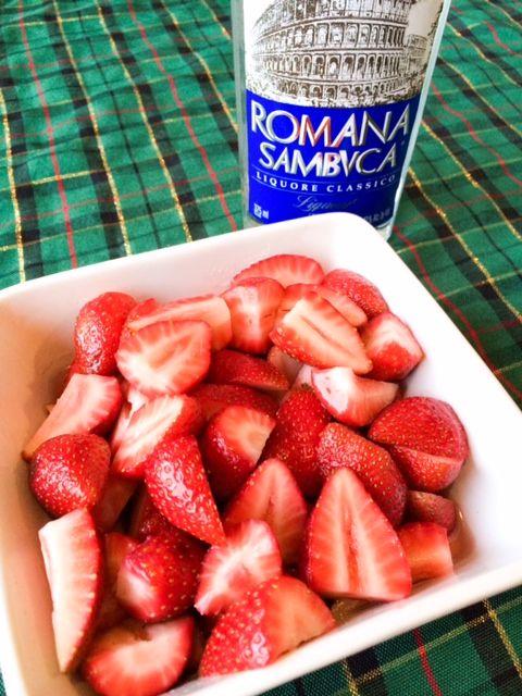 Sambuca Soaked Strawberries Recipe