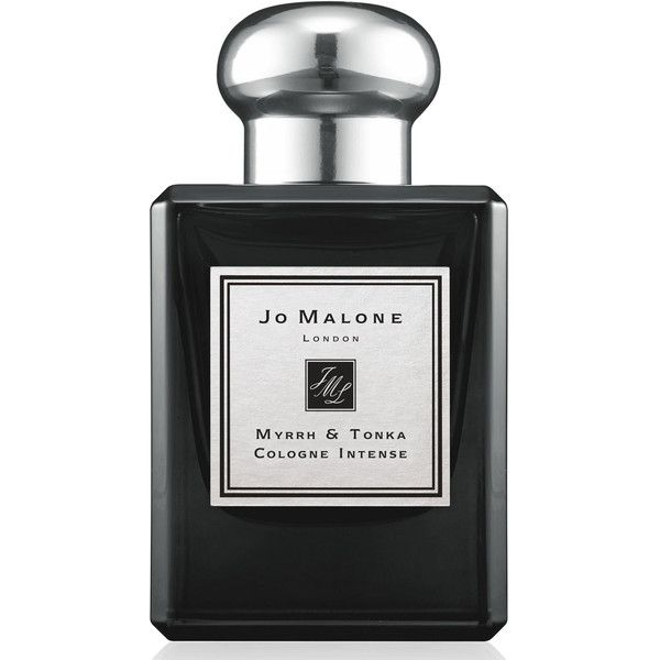 Jo Malone London Myrrh & Tonka Cologne ($120) ❤ liked on Polyvore featuring beauty products, fragrance, perfume, cologne perfume, cologne fragrance, perfume cologne, jo malone perfume and eau de cologne