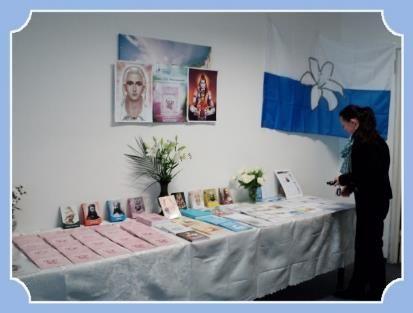 Впервые книги Т.Н. Микушиной с Учением Вознесённых Владык были представлены в Чехии на выставке «НОВОЕ СОЗНАНИЕ ДЛЯ НОВОГО МИРА»