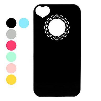 ultradunne lichtgewicht unieke beschermende achterkant van de behuizing voor de iPhone 4 en 4s (verschillende kleuren) – € 1.71