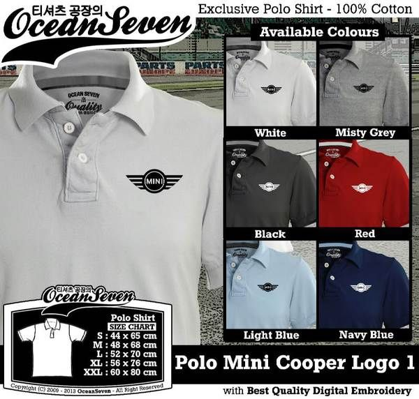 Polo Shirt - Polo Mini Cooper Logo 1