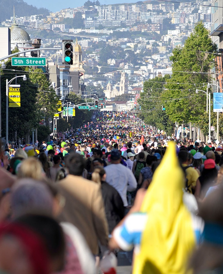 """Don't miss SF's annual """"Bay to Breakers"""" - a mix of fun, weird, and wacky!"""