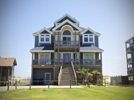 13 best hatteras island rentals images on pinterest for Hatteras homes