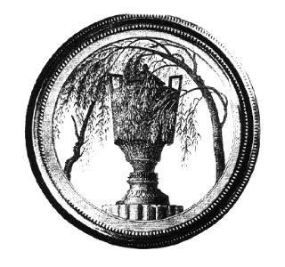 Image séditieuse : urne funéraire avec les profils cachés de LouisXVI et Marie-Antoinette.