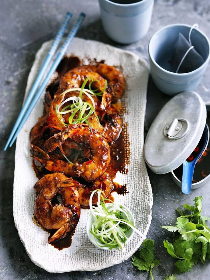 HOT AND FRAGRANT PRAWNS