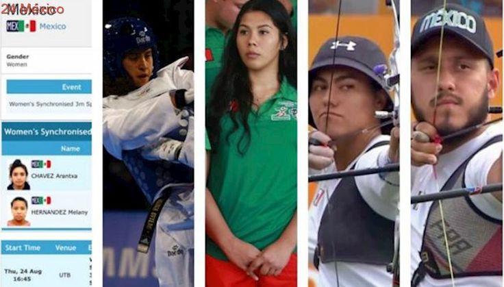 México logra cinco medallas en jornada exitosa en Universiada Taipéi 2017