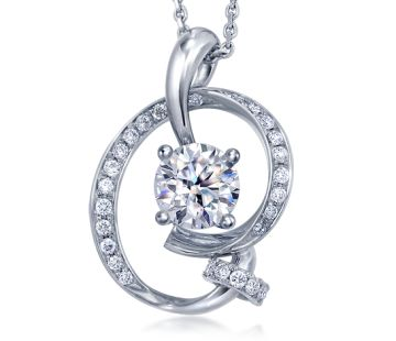 Diamond in Motion Diamond Pendant - Collaboration Collection - Diamond in Motion - Collections & Brands - Chow Sang Sang Jewellery
