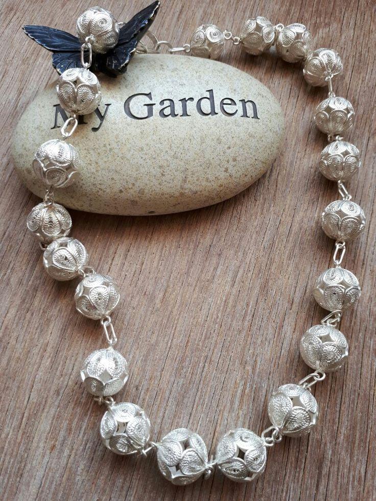 Handmade Silver Filigree Necklace