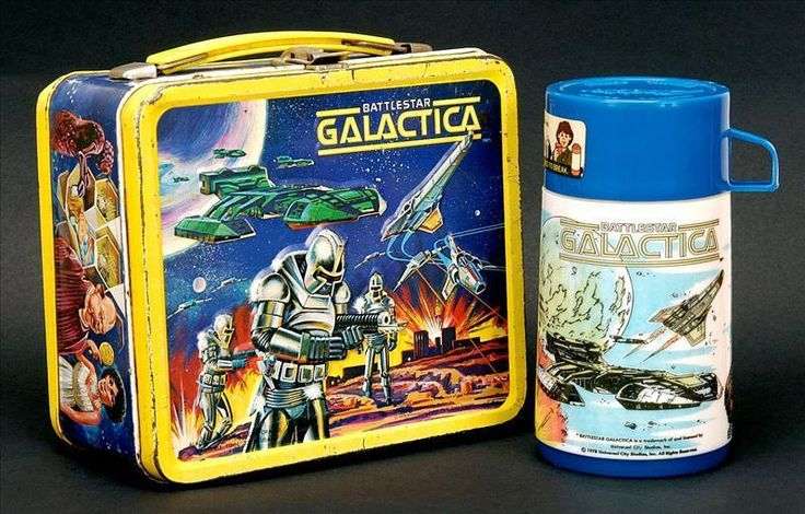 Battlestar Gallactica Vintage 1978 Lunch Box - lunch-boxes Photo