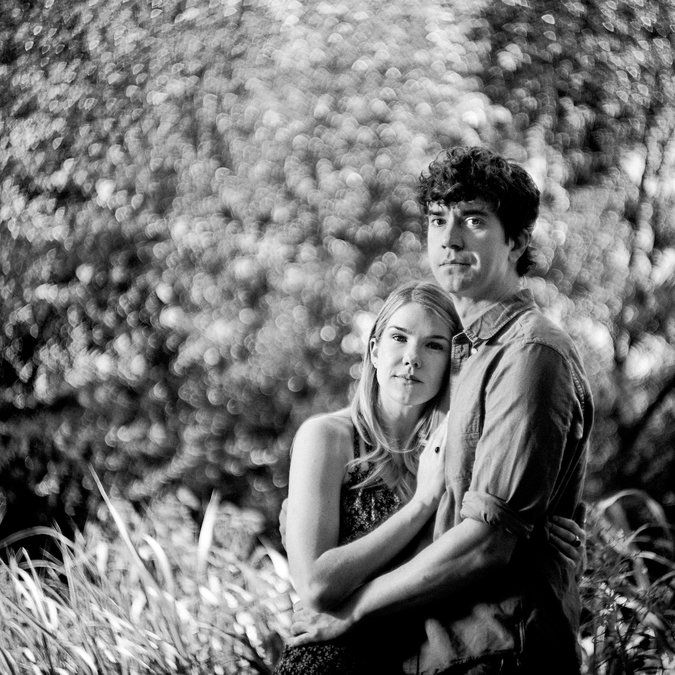 Lily Rabe and Hamish Linklater: A Midsummer Night's Couple - The New York Times