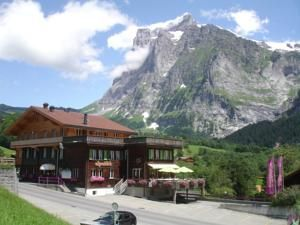 Hotel Alpenblick, Grindelwald, Switzerland  Basic, hostel type accommodation, not sure how to get there.   1 × Family Room (6 Adults) with Private Bathroom	AUD 1,256 AUD 1,160	 1 × Family Room (6 Adults) with Private Bathroom	AUD 1,256 AUD 1,160  	 $2320 x 3 nights