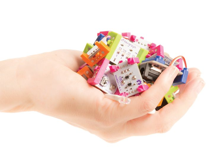 A nice, clear intro to littleBits, with good explanations of basic logic bits.