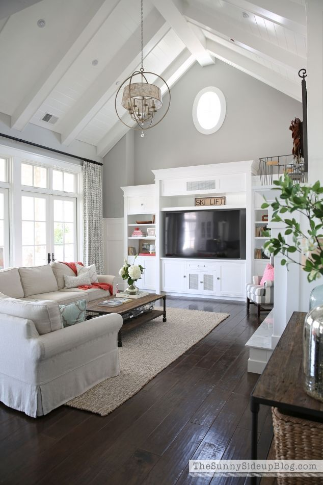 25 best vaulted ceiling decor trending ideas on pinterest for Half vaulted ceiling with beams