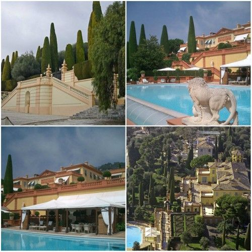 Second ranked Villa Leopolda on the Cote d'Azur in France. The villa is owned by Lily Safra, widow of banker Edmond Safra, Lebanon.  The villa was estimated at $ 750 million. In 2008 Russian oliharh Mikhail Prokhorov wanted to buy it, but then decided against it.